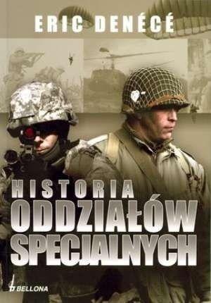 Okładka książki Historia oddziałów specjalnych