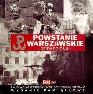 Okładka książki Powstanie Warszawskie dzień po dniu