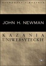 Okładka książki Kazania uniwersyteckie