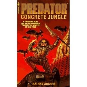 Okładka książki Predator: Concrete Jungle