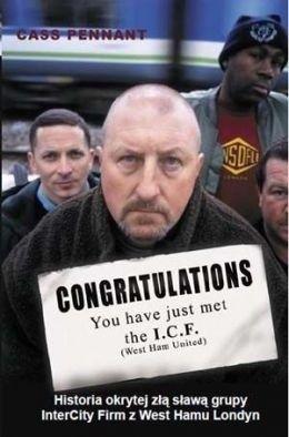 Okładka książki Congratulations You have just met the I.C.F. (wydanie polskie)