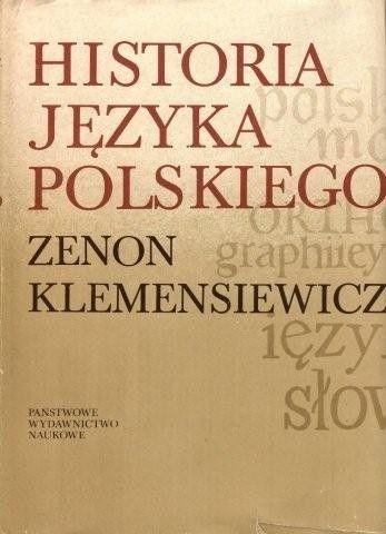 Okładka książki Historia języka polskiego t.1