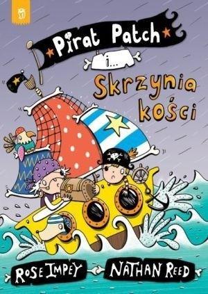 Okładka książki Pirat Patch i skrzynia kości