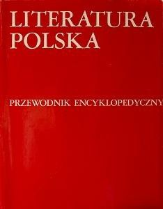 Okładka książki Literatura polska. Przewodnik encyklopedyczny A-M