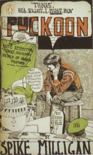 Okładka książki Puckoon