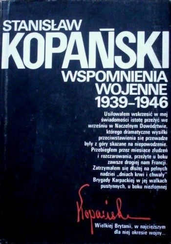 Okładka książki Wspomnienia wojenne 1939-1946