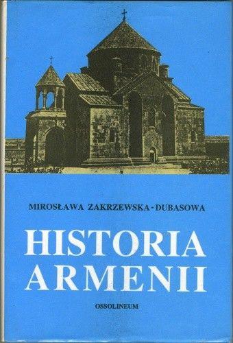 Okładka książki Historia Armenii