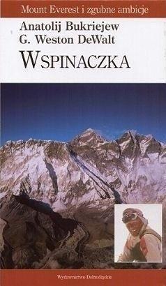 Okładka książki Wspinaczka. Mount Everest i zgubne ambicje