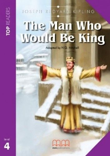 Okładka książki The man who would be king