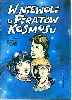 Okładka książki W niewoli u piratów kosmosu