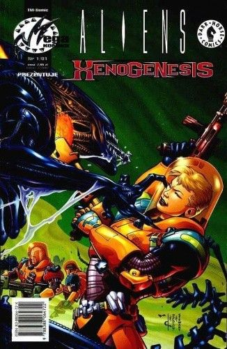 Okładka książki Aliens: Xenogenesis