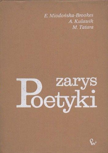 Okładka książki Zarys poetyki