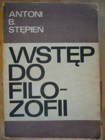 Okładka książki Wstęp do filozofii