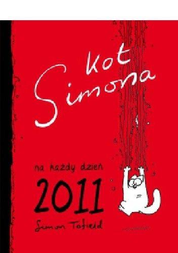 Okładka książki Kot Simona na każdy dzień 2011