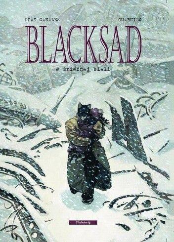 Okładka książki Blacksad: W śnieżnej bieli
