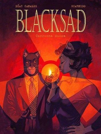 Okładka książki Blacksad: Czerwona dusza