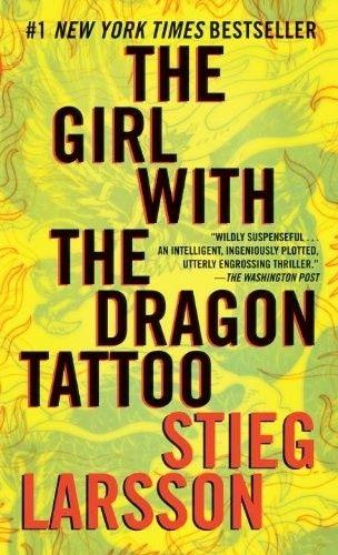 Okładka książki The Girl with the Dragon Tattoo