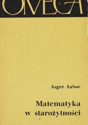 Okładka książki Matematyka w starożytności