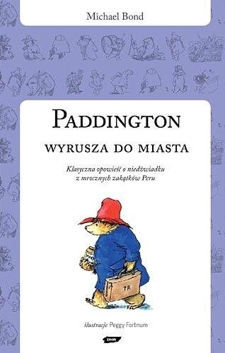 Okładka książki Paddington wyrusza do miasta