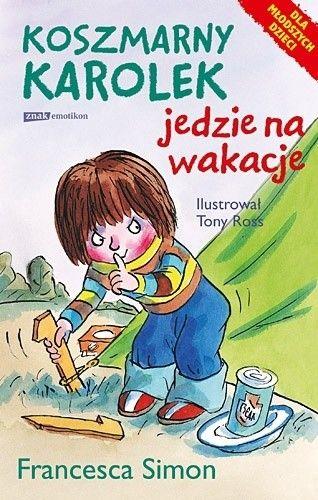 Okładka książki Koszmarny Karolek jedzie na wakacje