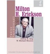 Okładka książki Milton H. Erickson. Biografia