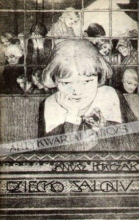Okładka książki Dziecko salonu