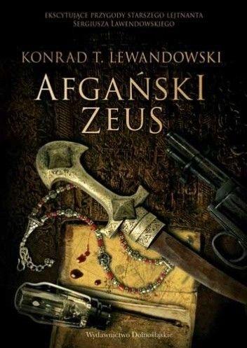 Okładka książki Afgański Zeus