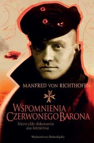 Okładka książki Wspomnienia Czerwonego Barona