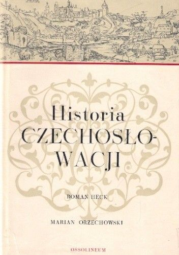 Okładka książki Historia Czechosłowacji