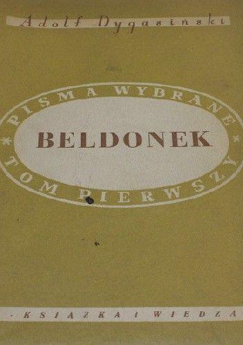Okładka książki Beldonek