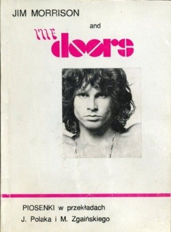 Okładka książki Jim Morrison and The Doors : piosenki