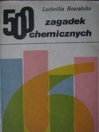 Okładka książki 500 zagadek chemicznych