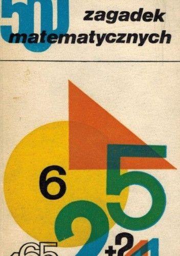 Okładka książki 500 zagadek matematycznych