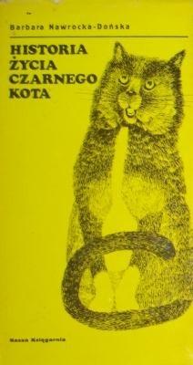 Okładka książki Historia życia czarnego kota