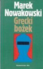 Okładka książki Grecki bożek