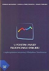 Okładka książki U podstaw analizy filozoficznego dyskursu