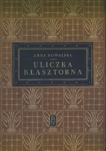 Okładka książki Uliczka klasztorna
