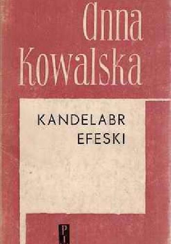 Okładka książki Kandelabr efeski