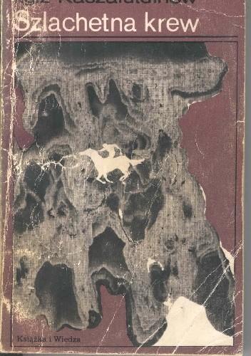 Okładka książki Szlachetna krew