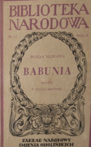 Okładka książki Babunia