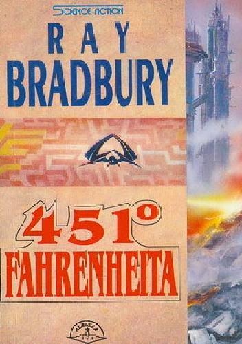 Okładka książki 451° Fahrenheita