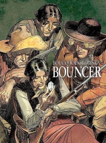Okładka książki Bouncer
