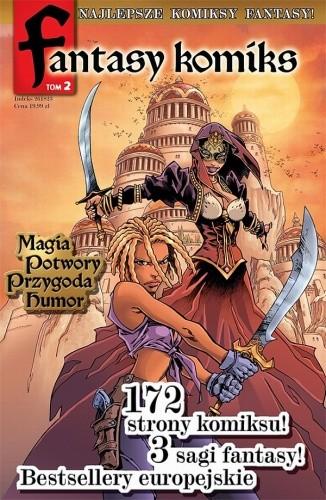 Okładka książki Fantasy Komiks t.2
