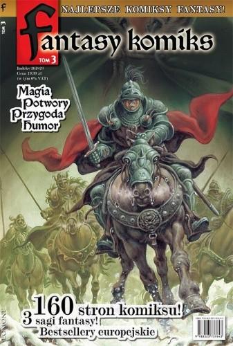 Okładka książki Fantasy Komiks t.3