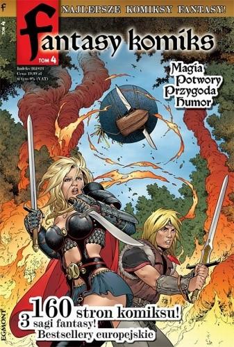 Okładka książki Fantasy Komiks t.4
