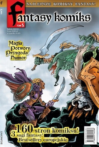 Okładka książki Fantasy Komiks t.5