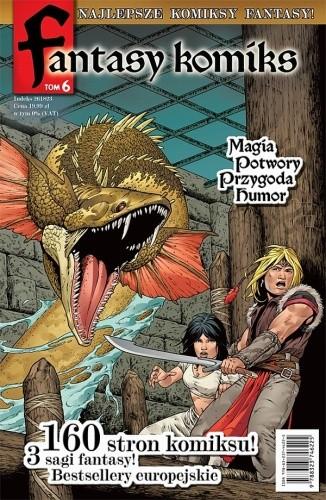 Okładka książki Fantasy Komiks t.6