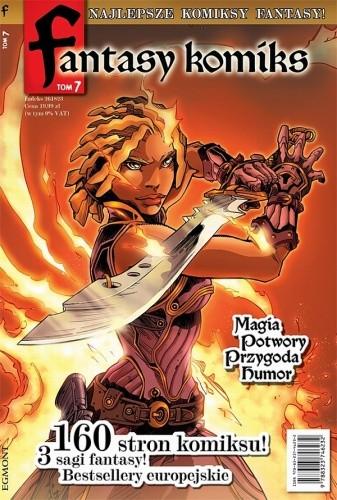 Okładka książki Fantasy Komiks t.7