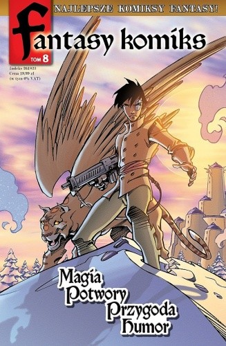 Okładka książki Fantasy Komiks t.8