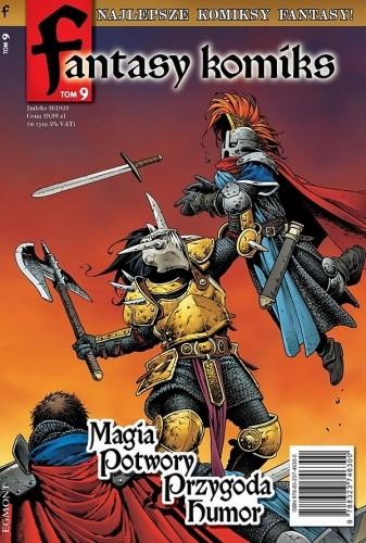 Okładka książki Fantasy Komiks t.9
